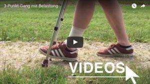An Krücken gehen - unsere Videos